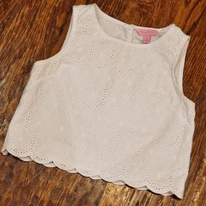 White Lilly Pulitzer sz 12 Girls Top